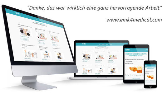 emk4medical webdesign von website4everyone