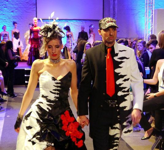 Designer Fashion News Extravagante Brautmode Ausgefallene