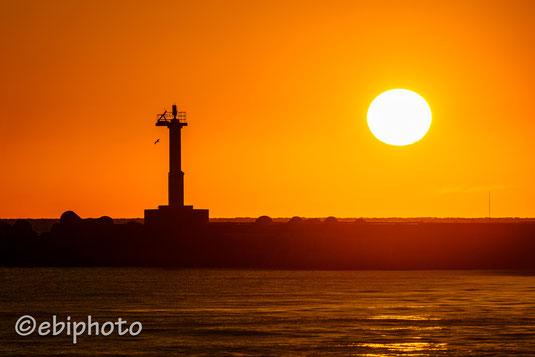 吹浦港北防波堤灯台
