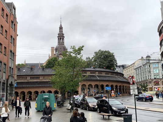 Norwegen, Oslo, Zentrum mit Dom