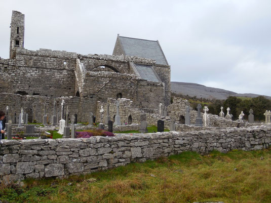 Corcomroe Abbey, Irland