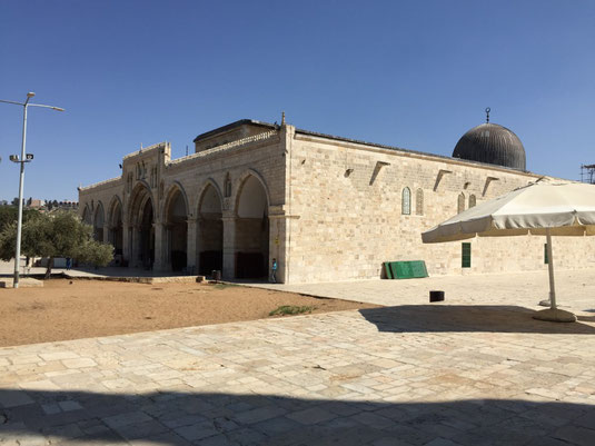 Israel, Jerusalem, al-Aksa-Moschee,Tempelberg