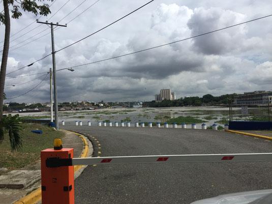 Dom Rep, Dominikanische Republik, Santo Domingo, Promenade, Malecon, Ufer, Punta Torrecillas