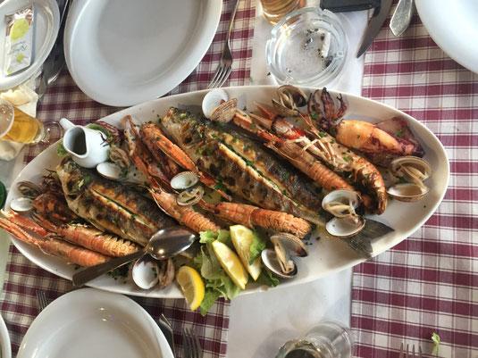 Kroatien, Segeln, Segeltörn, Dugi, Otok, Veli Rat, Marina, Reisebericht, Reiseblog, Fischplatte