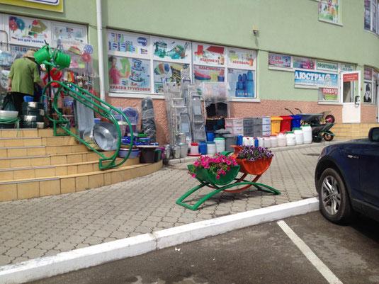 Transnistrien, Tiraspol, Markt