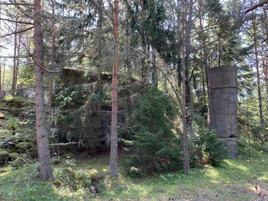 Tallinn, Estland, Naissaar, Ruinen