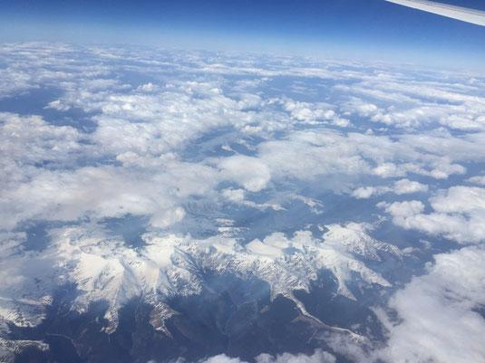 Rumänien, Karpaten, Luftbild, Flug