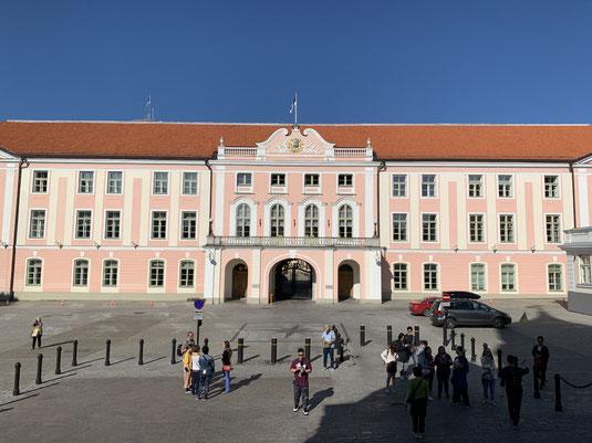 Estland, Tallinn, Reval, Altstadt, Regierungsgebäude, Parlament von Estland