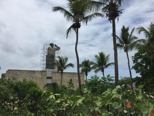 Dom Rep, Dominikanische Republik, Santo Domingo, Promenade, Malecon, Ufer, Monumento a Fray Antonio de Montesinos