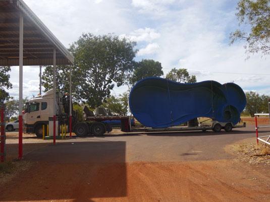 Australien, Northern Territory, Stuart Highway, Raststätte, Rastplatz, Tankstelle