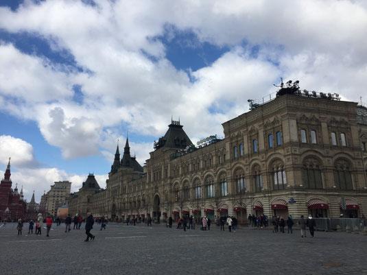 Russland, Moskau, Roter Platz, Kaufhaus GUM