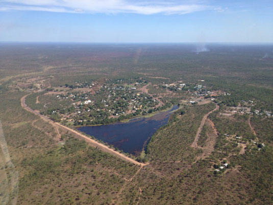 Australien, Northern Territory, Kakadu National Park, Flug, Billabong, Scenic Flight, Jabiru