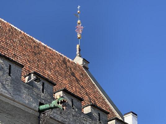 Estland, Tallinn, Reval, Altstadt, Denkmal, Rathaus