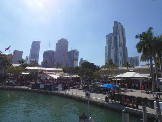 Miami, Florida, Bayside, Waterfront, Bayfront