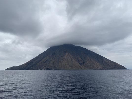 Sizilien, Liparische Inseln, Äolische, Stromboli, Sehenswürdigkeit, Vulkan