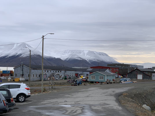 Spitbergen, Svalbard, Longyearbyen,