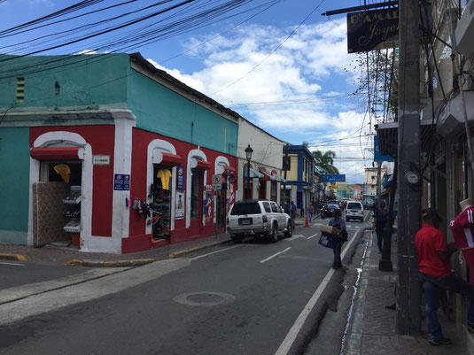 Dom Rep, Dominikanische Republik, Santiago, Zentrum