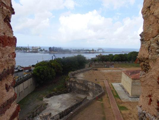 Dom Rep, Dominikanische Republik, Santo Domingo, Zona Colonial, Altstadt, Zentrum, Burg, Festung, Fortaleza Ozama