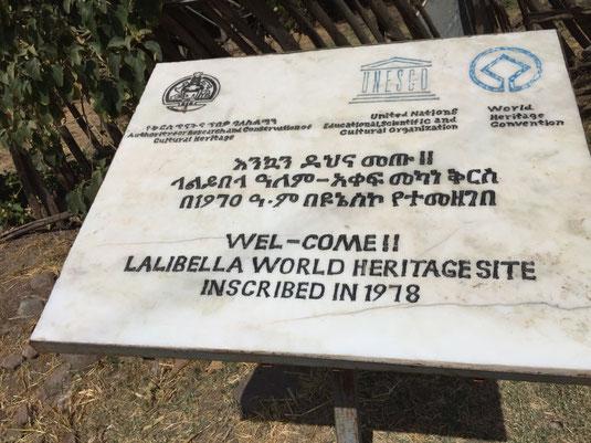 Lalibela, Felsenkirchen, Weltkulturerbe
