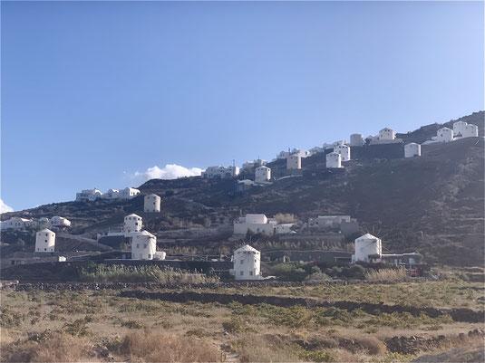 Santorini, Griechenland, Steilküste, Fira, Oia, Windmühle