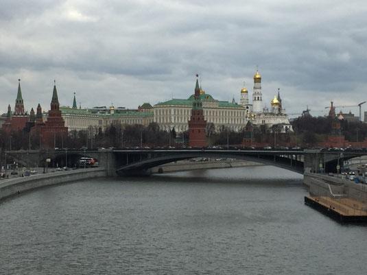 Russland, Moskau, Kraml, Patriarchen Brücke