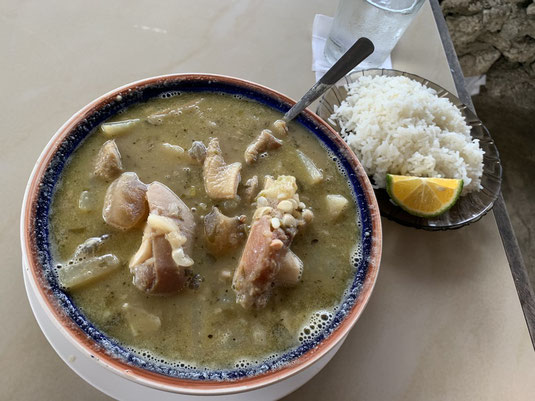 Mondongo, Costa Rica, Suppe