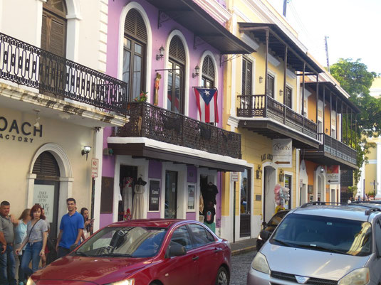 Puerto Rico, San Juan, Fußgängerzone, Altstadt