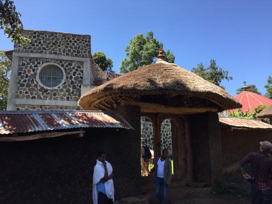 Tana See, Bahir Dar, Halbinsel Zeghe, Kloster Azwa Maryam