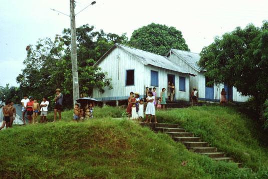 Brasil, Brasilien, Dorf Amazonas