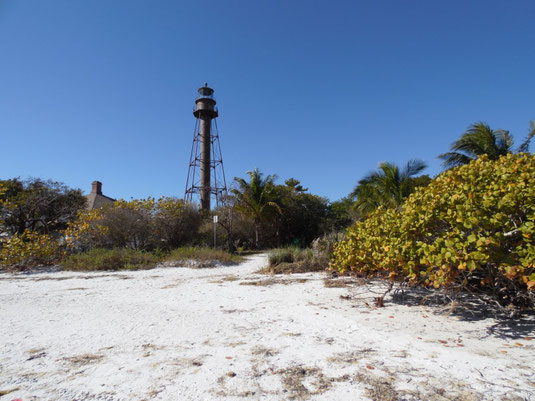Florida, Leuchtturm auf Sanibel Island