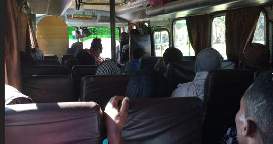 Busfahrt von Lalibela nach Bahir Dar, Tana See