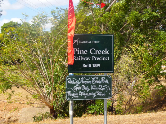 Australien, Pine Creek, Railway Museum, Eisenbahn