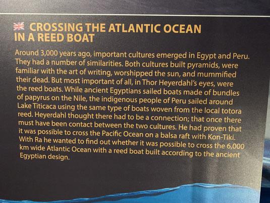 Norwegen, Oslo, Thor Heyerdahl, Kon-Tiki Museum, Schilfboot, balsa raft, ra he