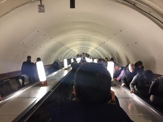 Moskau, Russland, Pawelezer Bahnhof, Metro, U-Bahn, Pavelezkaya