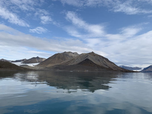 Spitzbergen, Svalbard, Fjord