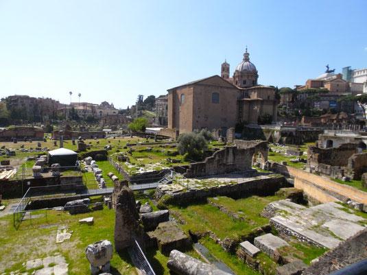 Italien, Rom, Colosseum, Mercati di Traiano