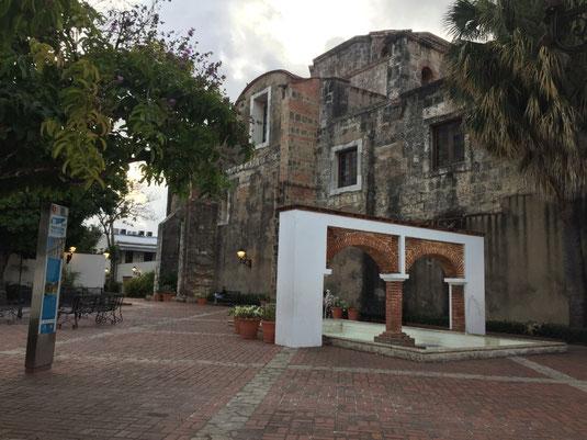 Plaza Maria de Toledo, Dom Rep, Dominikanische Republik, Santo Domingo, Zona Colonial, Altstadt, Zentrum,
