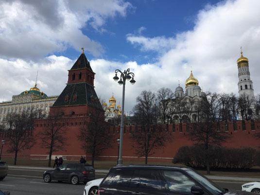 Russland, Moskau, Roter Platz, Kreml