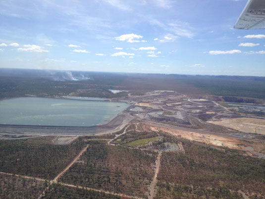Australien, Northern Territory, Kakadu National Park, Flug, Uran Mine, Scenic Flight