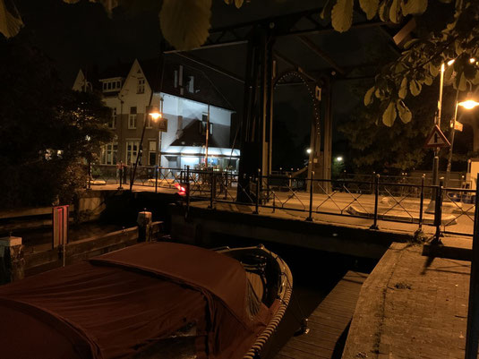 Abcoude, Vorort Amsterdams, Holland, Niederlande, Grachten, Kanal, Hebebrücke