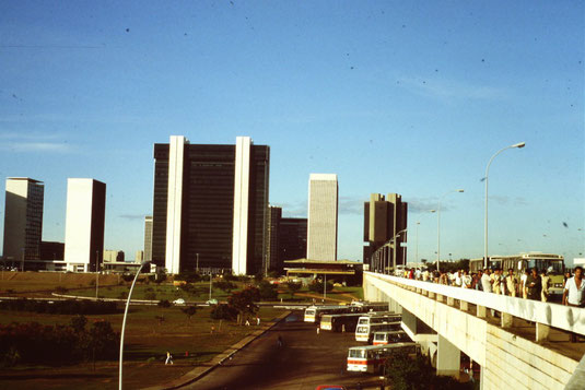 Brasil, Brasilien, Brasilia, Busbahnhof