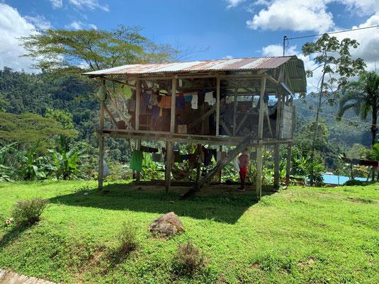 Panama, David, Landstraße, Haus, Wohnhaus,