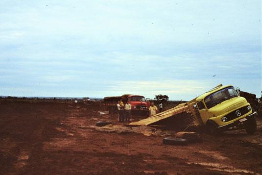 Brasil, Brasilien, Amazonas, Mercedes LKW, Panne