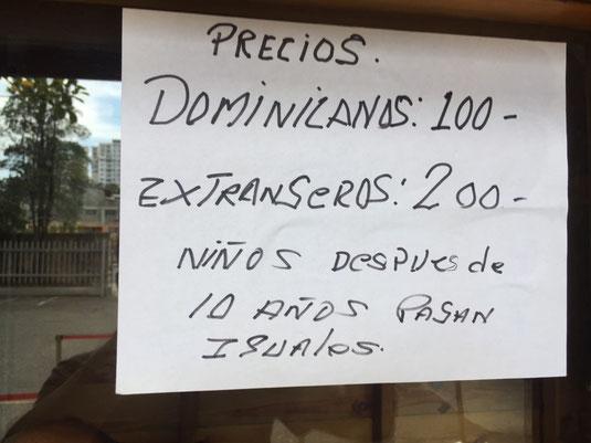 Dom Rep, Dominikanische Republik, Santo Domingo, las tres ojos,