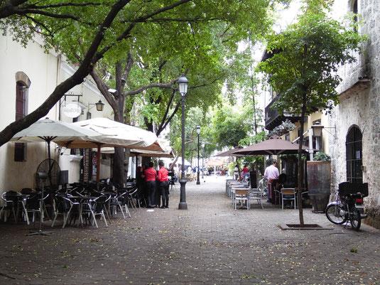 Dom Rep, Dominikanische Republik, Santo Domingo, Plaza España, Zona Colonial,  Zona Colonial, Altstadt, Zentrum,