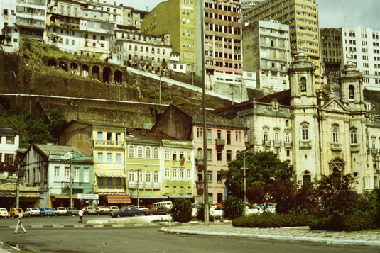 Brasil, Brasilien, Salvador de Bahia, Hafen, Zentrum, Skyline