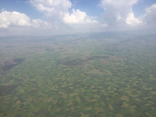 Äthiopien, Flug, Landwirtschaft