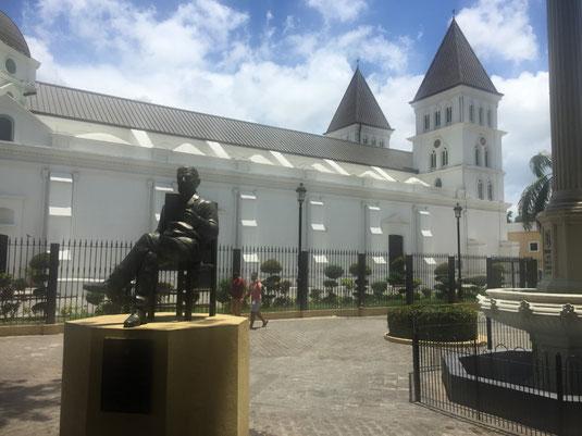 Dom Rep, Dominikanische Republik, Santiago, Zentrum, Monumento heroes