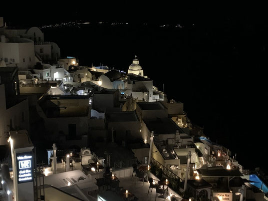 Santorini, Fira, Griechenland