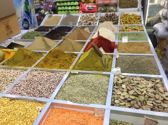 Reisebericht, Reiseblog, Sehenswürdigkeiten, Attraktion, Kuwait, Souq Al-Mubarakiya, Basar, Bazar, Gewürze